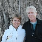 Tish & Marion at Baobob tree